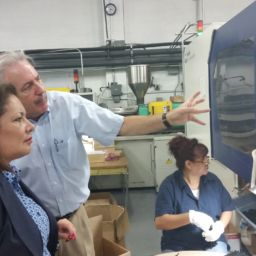 SPI Plant Tour: C&G Mercury Plastics in Sylmar, CA Hosts California Assemblymember Patty Lopez